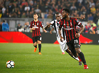 Franck Kessie  during the  Coppa Italia ( Tim Cup) final soccer match,  Ac Milan  - Juventus Fc       at  the Stadio Olimpico in Rome  Italy , 09 May 2018