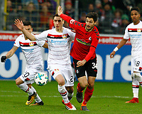 Dominik KOHR, Bayer Leverkusen - Tim KLEINDIENST, SCF,   Charles ARANGUIZ, Bayer Leverkusen,   Fussball, 1. Bundesliga  2017/2018<br /> <br />  <br /> Football: Germany, 1. Bundesliga, SC Freiburg vs Bayer 04 Leverkusen, Freiburg, 03.02.2018 *** Local Caption *** © pixathlon<br /> Contact: +49-40-22 63 02 60 , info@pixathlon.de