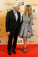 MADRID, SPAIN-December 11: Richard Gere and Alejandra Silva attend the premiere of La Cena at the Capitol theater in Madrid, Spain December11, 2017. Credit: Jimmy Olsen/Media Punch ***NO SPAIN*** /nortephoto.com NORTEPHOTOMEXICO