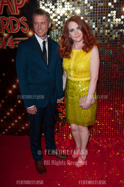 Jennie McAlpine arriving for the 2014 British Soap Awards, at the Hackney Empire, London. 24/05/2014 Picture by: Dave Norton / Featureflash