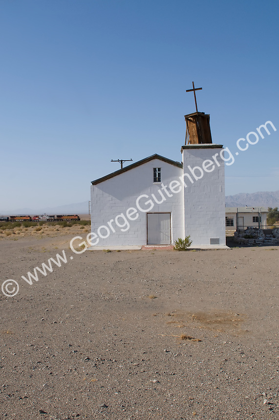 Old church, Amboy, California