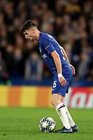 5th November 2019; Stamford Bridge, London, England; UEFA Champions League Football, Chelsea Football Club versus Ajax; Jorginho of Chelsea - Editorial Use
