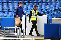 Chelsea's Gary Cahill leaves the ground after an emotional substitute appearance on possibly his last game for the Club during Chelsea vs Watford, Premier League Football at Stamford Bridge on 5th May 2019