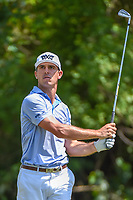 Billy Horschel (USA) watches his tee shot on 3 during Round 1 of the Zurich Classic of New Orl, TPC Louisiana, Avondale, Louisiana, USA. 4/26/2018.<br /> Picture: Golffile | Ken Murray<br /> <br /> <br /> All photo usage must carry mandatory copyright credit (&copy; Golffile | Ken Murray)