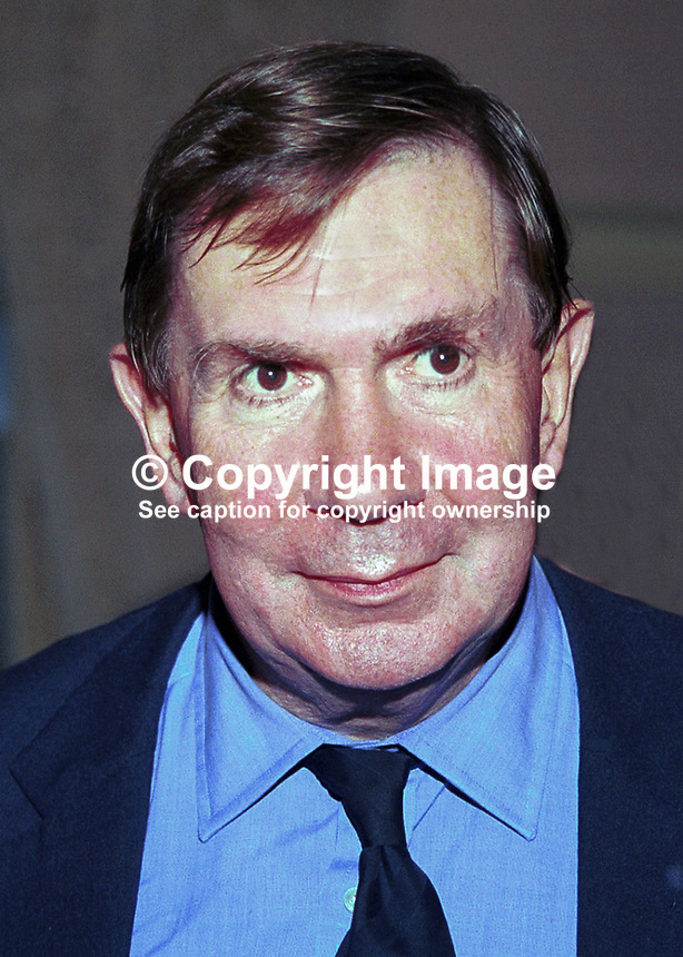 Lord Irvine of Lairg, Lord Chancellor, Britain's most senior law officer. AKA Derry Irvine. Ref:199909270. Labour Party Annual Conference, Bournemouth, England..Copyright Image from Victor Patterson, 54 Dorchester Park, Belfast, UK, BT9 6RJ..Tel: +44 28 9066 1296.Mob: +44 7802 353836.Voicemail +44 20 8816 7153.Skype: victorpattersonbelfast.Email: victorpatterson@mac.com.Email: victorpatterson@ireland.com (back-up)..IMPORTANT: If you wish to use this image or any other of my images please go to www.victorpatterson.com and click on the Terms & Conditions. Then contact me by email or phone with the reference number(s) of the image(s) concerned.