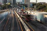 Austin Rush-Hour Traffic Jam on I-35 Mopac Loop 1 Commute Transportation - Stock Photo Image Gallery