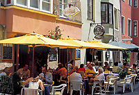 Kroatien, Istrien, Porec: Cafes und Restaurants | Croatia, Istria, Porec: cafes and restaurants