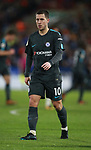 Eden Hazard of Chelsea during the premier league match at the John Smith's Stadium, Huddersfield. Picture date 12th December 2017. Picture credit should read: Simon Bellis/Sportimage