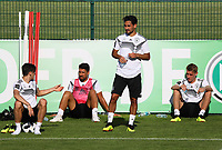 Toni Kroos (Deutschland Germany), Sami Khedira (Deutschland Germany), Ilkay Guendogan (Deutschland, Germany), Nils Petersen (Deutschland Germany) - 25.05.2018: Training der Deutschen Nationalmannschaft zur WM-Vorbereitung in der Sportzone Rungg in Eppan/Südtirol
