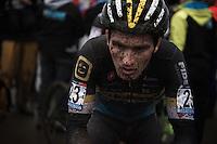 Jim Aernouts (BEL/Telenet-Fidea) post-race<br /> <br /> Grand Prix Adrie van der Poel, Hoogerheide 2016<br /> UCI CX World Cup