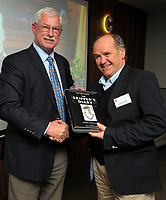 """Sir Richard Hadlee's """"The Skipper's Diary"""" book launch at Port Nicholson Yacht Club in Wellington, New Zealand on Tuesday, 19 September 2017. Photo: Dave Lintott / lintottphoto.co.nz"""