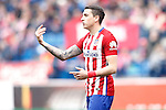 Atletico de Madrid's Jose Maria Gimenez during La Liga match. February 6,2016. (ALTERPHOTOS/Acero)
