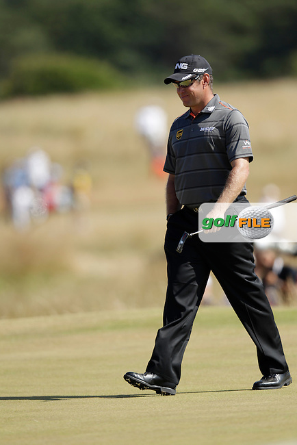 Lee WESTWOOD (ENG) during round two of  The 142th Open Championship Muirfield, Gullane, East Lothian, Scotland 19/7/2013<br /> Picture Eoin Clarke www.golffile.ie: