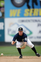 July 7 2009: Hawkins Gebbers of the Everett AquaSox before game against the Yakima Bears at Everett Memorial Stadium in Everett,WA.  Photo by Larry Goren/Four Seam Images