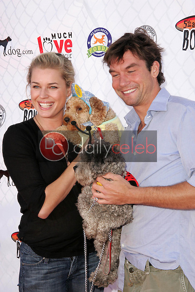 Rebecca Romijn and Jerry O'Connell<br />