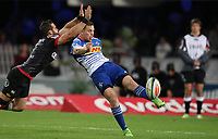 DURBAN, SOUTH AFRICA - MAY 27: SP Marais of the DHL Stormers during the Super Rugby match between Cell C Sharks and DHL Stormers at Growthpoint Kings Park on May 27, 2017 in Durban, South Africa. Photo by Steve Haag / stevehaagsports.com