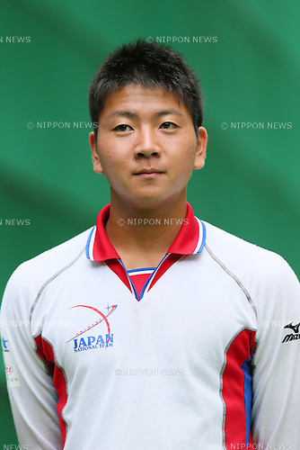 Naoya Oniyama (JPN), <br /> JULY 18, 2015 - Archery : <br /> Japan National Team Training <br /> for The World Archery Championships 2015 <br /> at JISS Archery Field, Tokyo, Japan. <br /> (Photo by YUTAKA/AFLO SPORT)