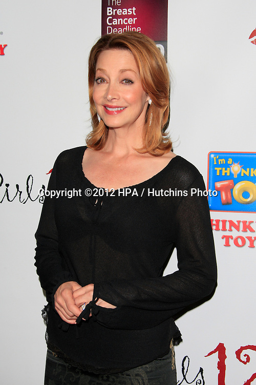 LOS ANGELES - OCT 15:  Sharon Lawrence arrives at the LES GIRLS 12th Annual Cabaret at Avalon Hollywood on October 15, 2012 in Los Angeles, CA
