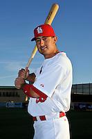 Mar 01, 2010; Jupiter, FL, USA; St. Louis Cardinals  infielder Allen Craig (56) during  photoday at Roger Dean Stadium. Mandatory Credit: Tomasso De Rosa/ Four Seam Images