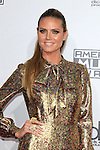 LOS ANGELES - NOV 20: Heidi Klum at the 2016 American Music Awards at Microsoft Theater on November 20, 2016 in Los Angeles, California