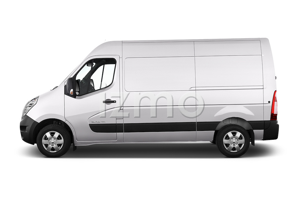 Car Driver side profile view of a 2015 Renault MASTER GRAND CONFORT 4 Door Cargo Van Side View