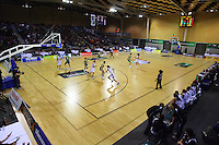 A general view of Te Rauparaha Arena during the International women's basketball match between NZ Tall Ferns and Australian Opals at Te Rauparaha Stadium, Porirua, Wellington, New Zealand on Monday 31 August 2009. Photo: Dave Lintott / lintottphoto.co.nz