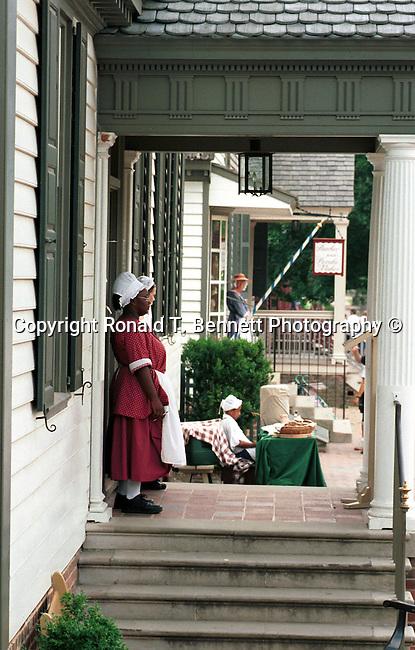 Employees Colonial Williamsburg, Fine Art Photography by Ron Bennett, Fine Art, Fine Art photography, Art Photography, Copyright RonBennettPhotography.com ©