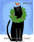 Kate, CHRISTMAS ANIMALS, WEIHNACHTEN TIERE, NAVIDAD ANIMALES, paintings+++++Christmas page 104,GBKM130,#xa#