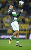 FUSSBALL  1. BUNDESLIGA  SAISON 2013/2014   3. SPIELTAG Borussia Dortmund - Werder Bremen                  23.08.2013 Franco Di Santo (SV Werder Bremen) beim Aufwaermen