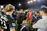 San Jose, CA - Saturday April 14, 2018: Mikael Stahre during a Major League Soccer (MLS) match between the San Jose Earthquakes and the Houston Dynamo at Avaya Stadium.