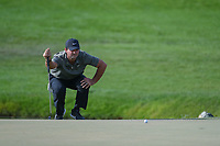 Patrick Reed (USA) lines up his putt on 13 during round 3 of the Arnold Palmer Invitational at Bay Hill Golf Club, Bay Hill, Florida. 3/9/2019.<br /> Picture: Golffile | Ken Murray<br /> <br /> <br /> All photo usage must carry mandatory copyright credit (© Golffile | Ken Murray)