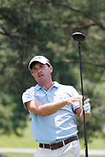 4th June 2017, Dublin, OH, USA;  Kevin Kisner tees off on the second hole during the Memorial Tournament - Final Round at Muirfield Village Golf Club in Dublin, Ohio