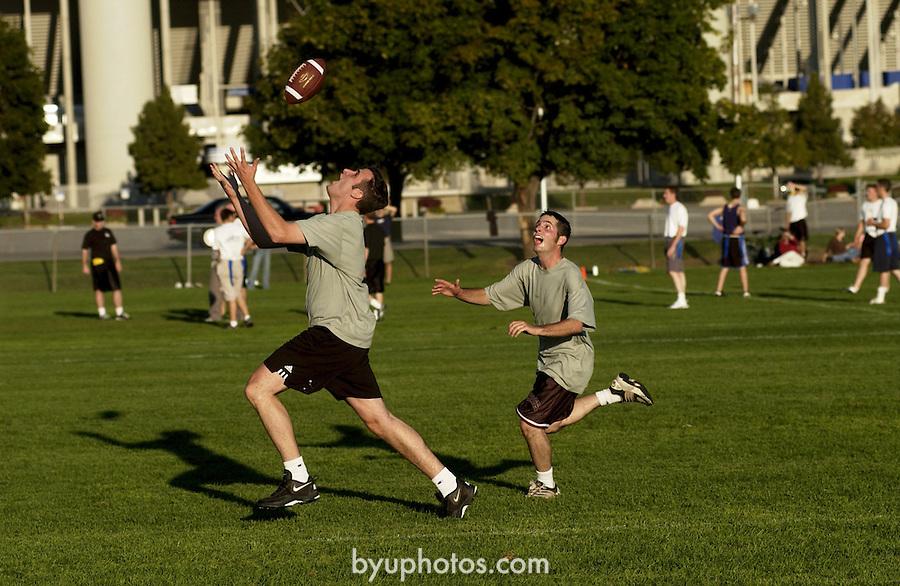 GCS 9/13/02 Intermural Football..Photo by Jaren Wilkey/BYU