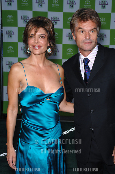 Actor HARRY HAMLIN & wife actress LISA RINNA at the 15th Annual Environmental Media Awards in Los Angeles..October 19, 2005 Los Angeles, CA..© 2005 Paul Smith / Featureflash