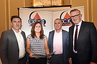 Pictured at an OCKT Chartered Accountants Budget Highlights Briefing in The Malton Hotel, Killarney on Wednesday were from left, John Greene, Sarah Treacy, OCKT, John McEnery and Liam McGuire.<br /> Photo: Don MacMonagle<br /> <br /> repro free photo