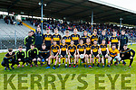 Dr Crokes team before the Semi finals of the Kerry Senior GAA Football Championship between Dr Crokes and South Kerry at Fitzgerald Stadium on Sunday.