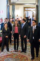 Letizia Ortiz at Senado