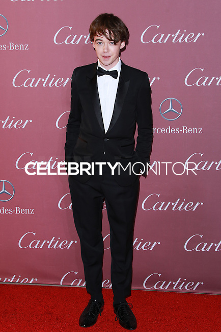 PALM SPRINGS, CA, USA - JANUARY 03: Alex Lawther arrives at the 26th Annual Palm Springs International Film Festival Awards Gala Presented By Cartier held at the Palm Springs Convention Center on January 3, 2015 in Palm Springs, California, United States. (Photo by David Acosta/Celebrity Monitor)