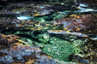 Pools in Opal Creek. Opal Creek wilderness. Willamette National Forest, Oregon