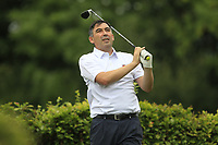 Stephen Moloney (Castletroy) on the 15th tee during the AIG Barton Shield Munster Final 2018 at Thurles Golf Club, Thurles, Co. Tipperary on Sunday 19th August 2018.<br /> Picture:  Thos Caffrey / www.golffile.ie<br /> <br /> All photo usage must carry mandatory copyright credit (© Golffile   Thos Caffrey)