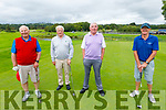 Members of the Killarney Golf & Fishing Club hosting their charity event for the Kerry Cancer Support Group & Irish Kidney Association (Kerry Branch) on Saturday. L to r:  Pat Buckley, Jerry Galvin, Tim Brosnan and Colm Galvin.