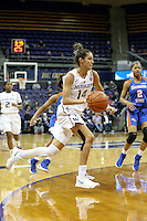 SEATTLE, WA - DECEMBER 18: Washington's Heather Corral against Savannah State.  Washington won 87-36 over Savannah State at Alaska Airlines Arena in Seattle, WA.