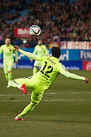 Barcelona´s Rafael Alcantara during 2014-15 Spanish King Cup match between Atletico de Madrid and Barcelona at Vicente Calderon stadium in Madrid, Spain. January 28, 2015. (ALTERPHOTOS/Luis Fernandez) /nortephoto.com<br />