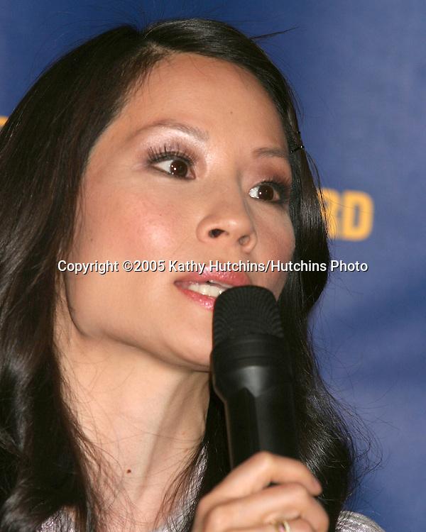 Lucy Liu.2005 Reebok Human Rights Award.Royce Hall, UCLA.Westwood, CA.May 11, 2005.©2005 Kathy Hutchins / Hutchins Photo