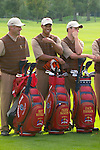 USA Team Photo for the 2006 Ryder Cup at The K Club featuring Brett Wetterich, Tiger Woods and Zach Johnson..Photo: Eoin Clarke/Newsfile.