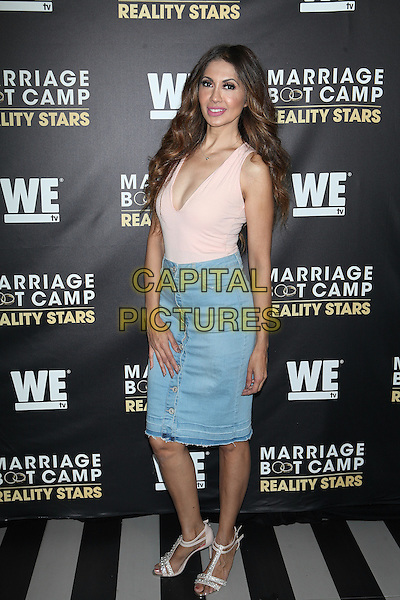 NEW YORK, NY - SEPTEMBER 22:   Tabasum Mir At WE tv Celebrates The Season 6 Premiere Of Marriage Boot Camp Reality Stars At Up &amp; Down on September 22, 2016 in New York City.  <br /> CAP/MPI99<br /> &copy;MPI99/Capital Pictures