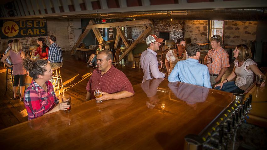 Second level of the Ore Dock Brewing Company, Marquette, Michigan.
