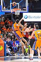 Dubljevic vs Gonlum<br /> Euroleague - 2014/15<br /> Regular season Round 7<br /> Valencia Basket vs Galatasaray