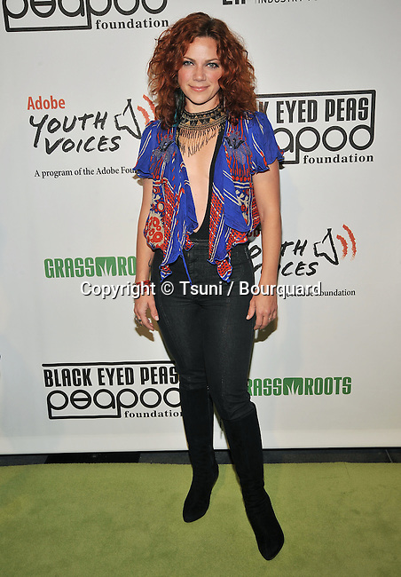 Nikka Costa -<br /> 5th Annual Black Eyed Peas Benefit Concert at The Conga Room In Los Angeles.