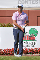 Jon Rahm (ESP) watches his tee shot on 1 during round 3 of the Fort Worth Invitational, The Colonial, at Fort Worth, Texas, USA. 5/26/2018.<br /> Picture: Golffile | Ken Murray<br /> <br /> All photo usage must carry mandatory copyright credit (&copy; Golffile | Ken Murray)
